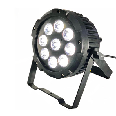 Waterproof Outdoor IP65 Battery Powered Up Lights 9*18W RGBAW UV 6in1 Led Par Light